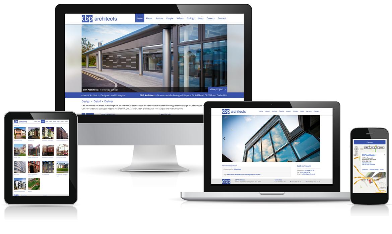 Sitio web de negocio