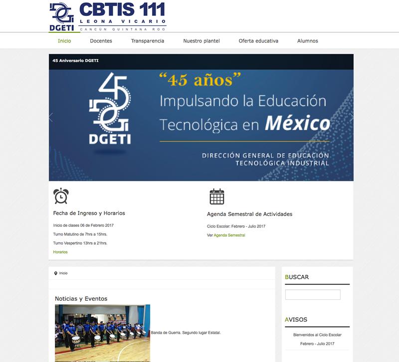 web cbtis111